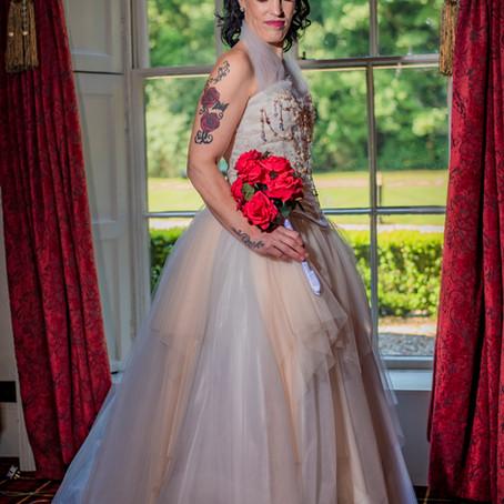 Antique Wedding Dress Photo Shoot