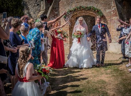 Nicola & James' Home Grown Wedding