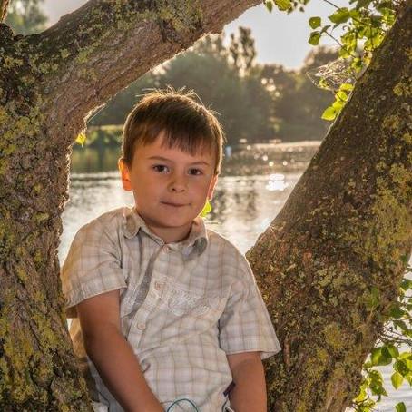 Family Photo Shoot At Lackford Lakes