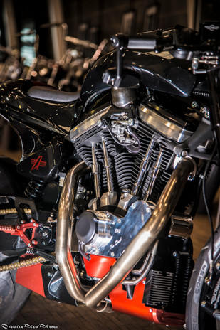motorcycle product shoot