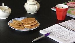 Schrijfcafé, iedere eerste dinsdag van de maand