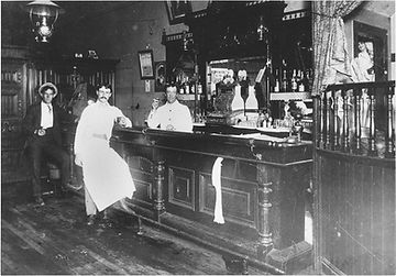Saloon in Davis circa 1900's