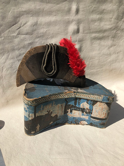 Unusual Hat Box and Hat