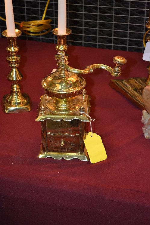 Brass Coffee Mill