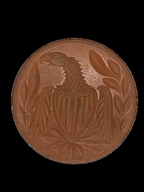 Eagle butter print