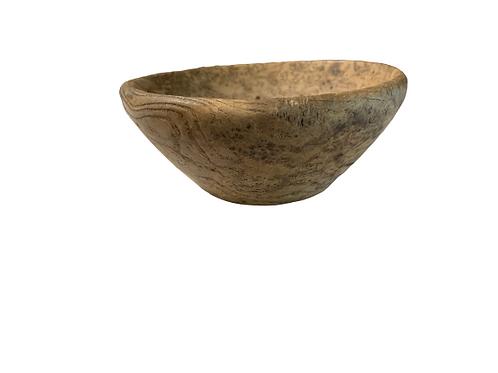 Very small Ash burl bowl