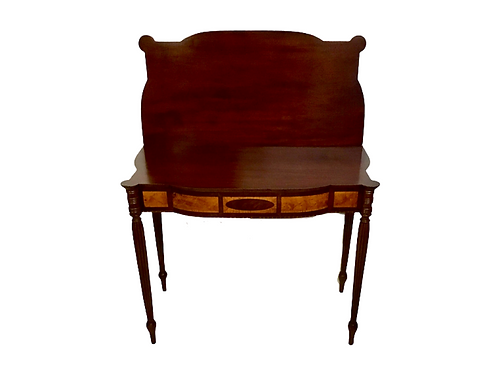 Federal Sheraton north shore mahogany card table