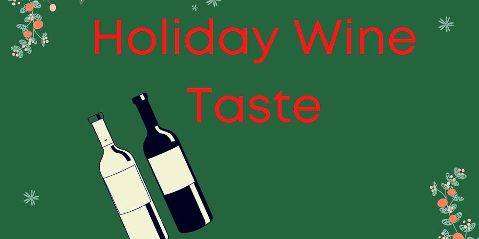 Holiday Wine Taste