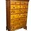 Thumbnail: Queen Anne tiger maple tall chest