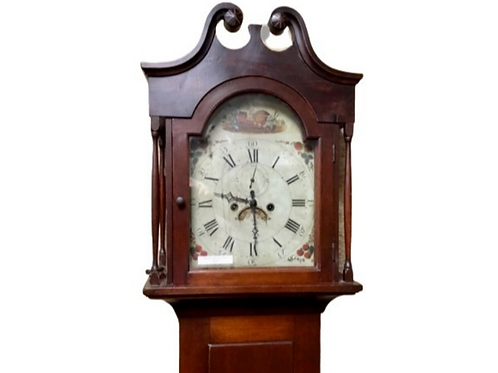 Federal 8day cherry tall case clock