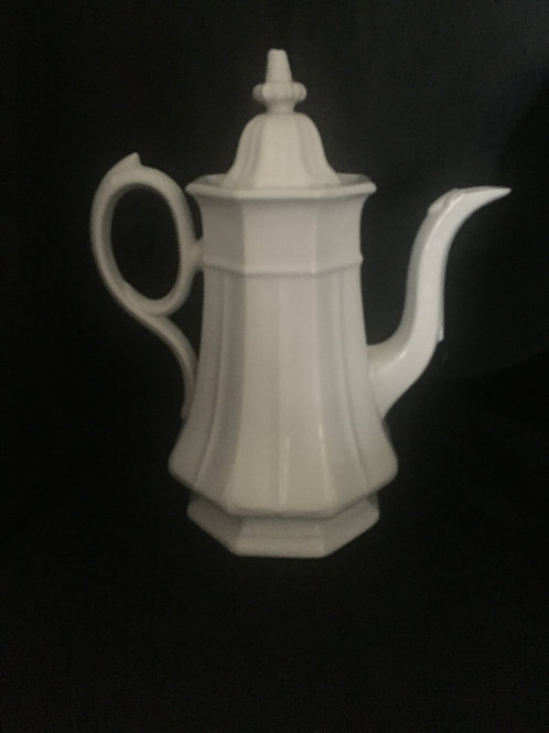T and R Booth 1850 Ironstone coffee pot.