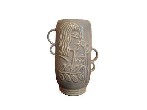 Redwing Pottery Vase.