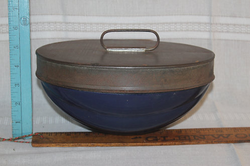 Tin and Enamelware Food Ice Cream Mold