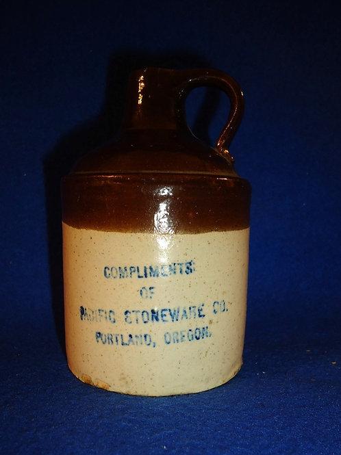 Pacific Stoneware Company, Portland, Oregon Stoneware Mini Jug