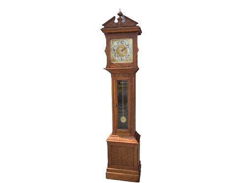 Oak Ithaca grandfather clock
