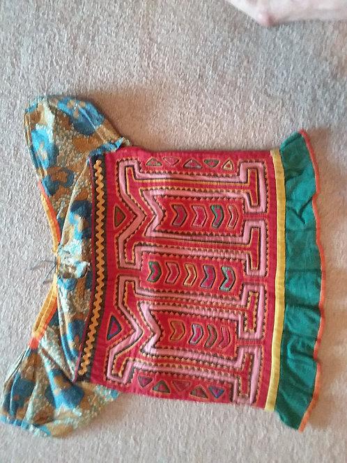 Molas Girl's Blouse, Kuna Indians