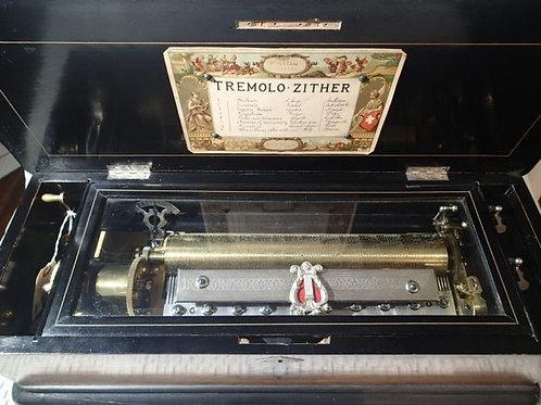 Tremolo Zither Cylinder Box