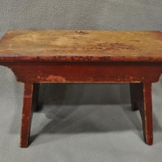 Small foot stool Steve White