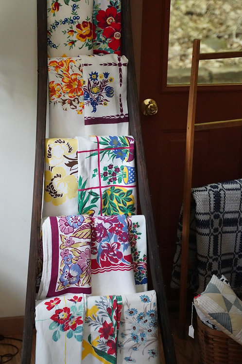 Selection of 40's and 50's Tablecloths