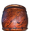 Thumbnail: Paint decorated vinegar grained covered container