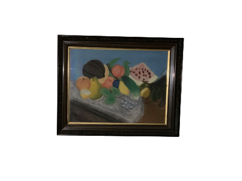FOLK ART PASTEL STILL LIFE