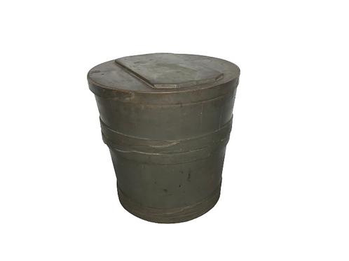 Wood flower bucket