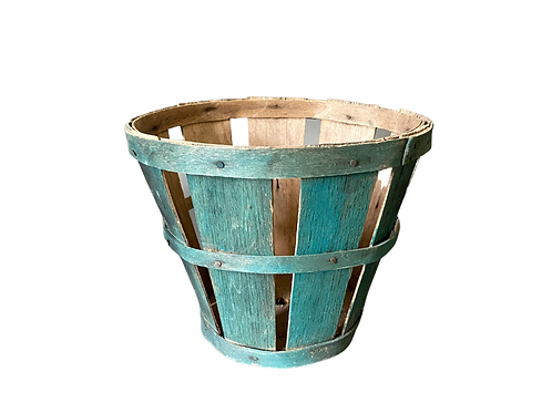 EARLY PAINTED PRODUCE BASKET