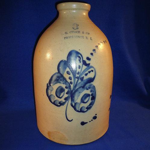 B. G. Chace, Providence, Rhode Island 3 Gallon Oyster Jar