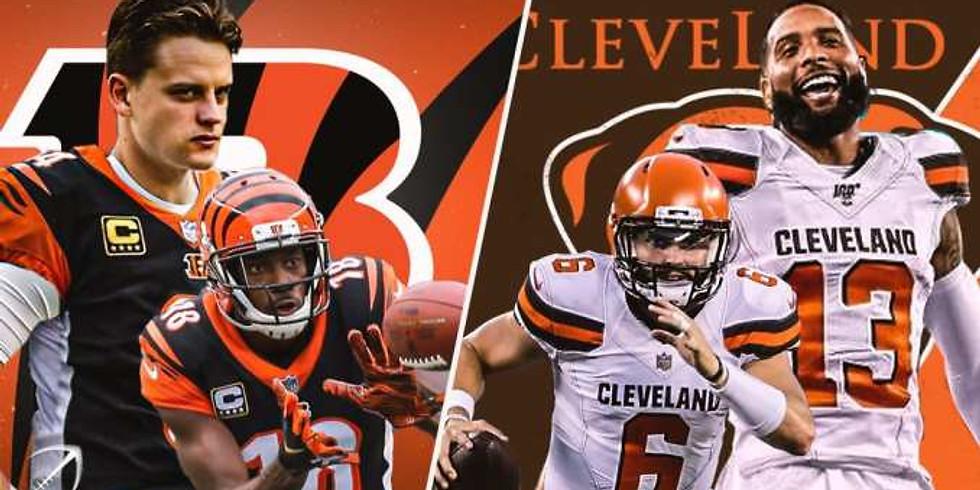 Browns vs Bengals
