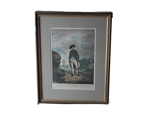 """""""The Pioneer"""" Litho by H.W. Dickins London"""
