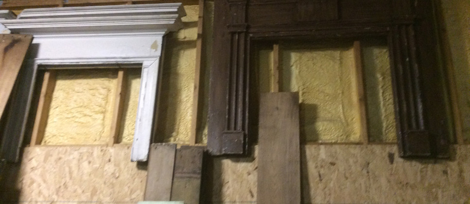 Rustic period mantels - various sizes and styles