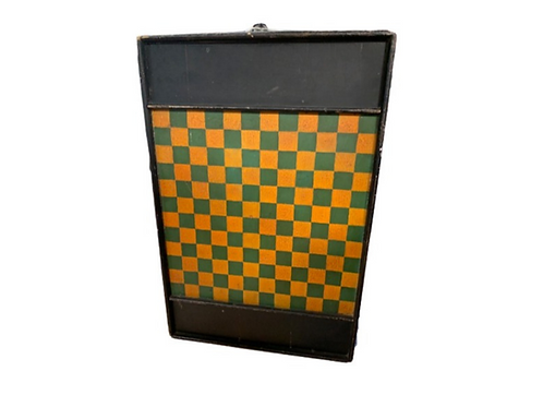 COUNTRY PAINTED GAME BOARD
