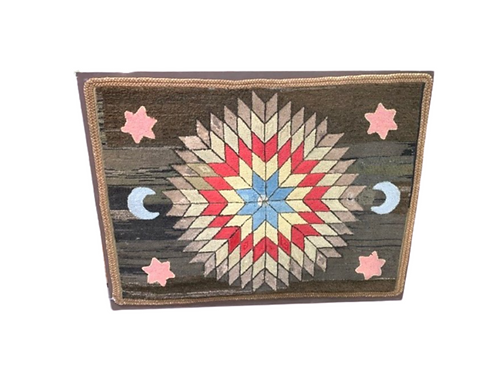 Early FolkHooked rug