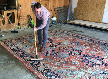 Caring for your oriental rug