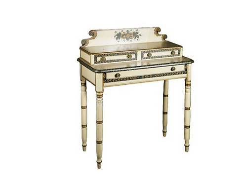 PAINT DECORATED NEW ENGLAND DRESSING TABLE