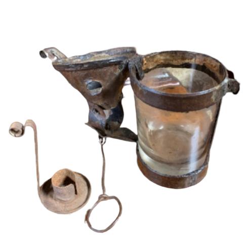 Pierced Tumbler candle lantern