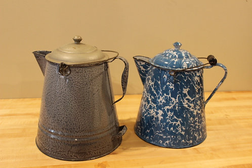 Graniteware coffee boilers