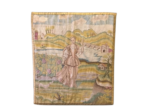 French Tapestry Panel
