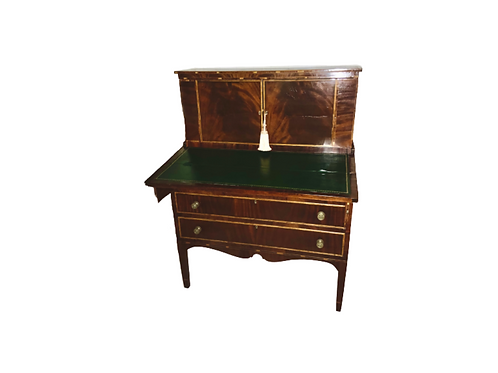 eral Mahogany ladies Hepplewhite writing desk