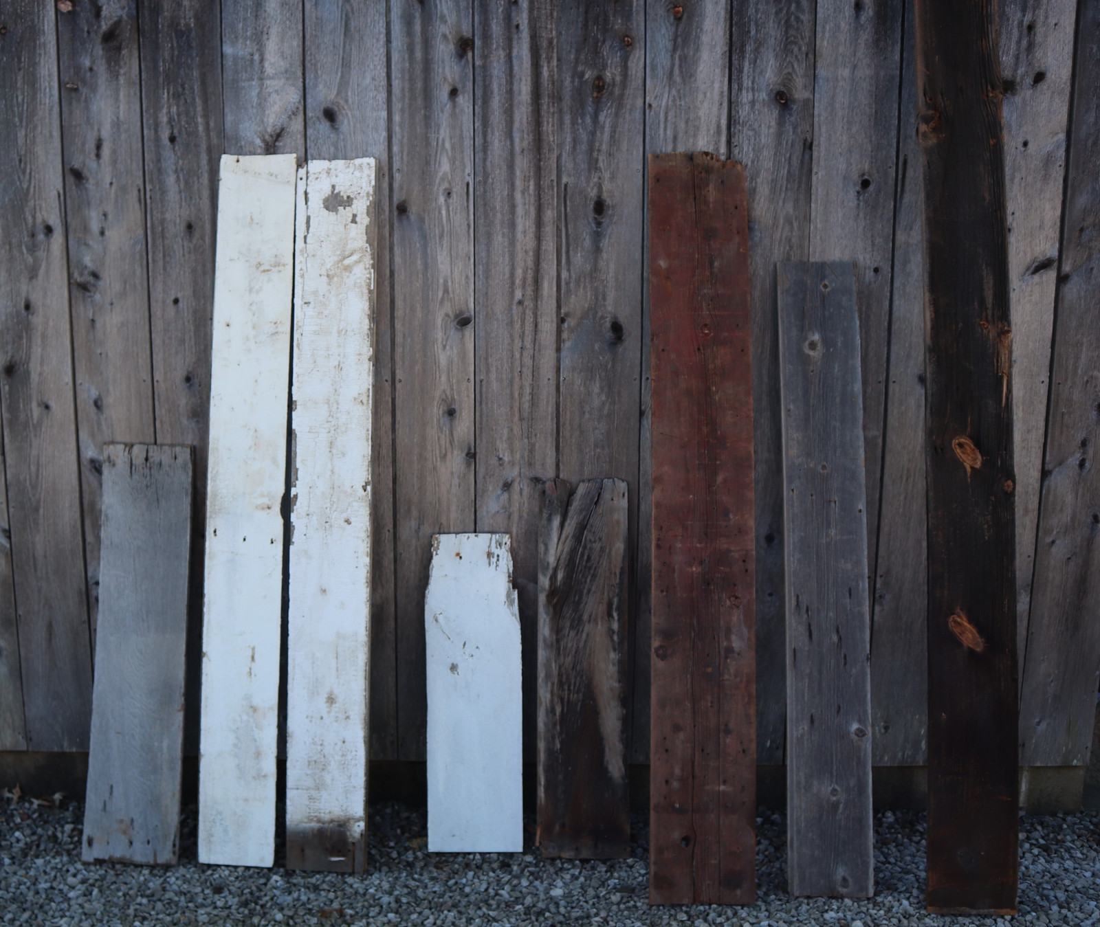 Various Styles Of Reclaimed Barn Wood Siding