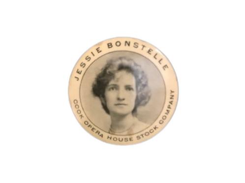 Rochester pinback button