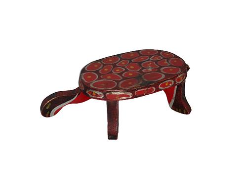 Folk Art cricket or footstool