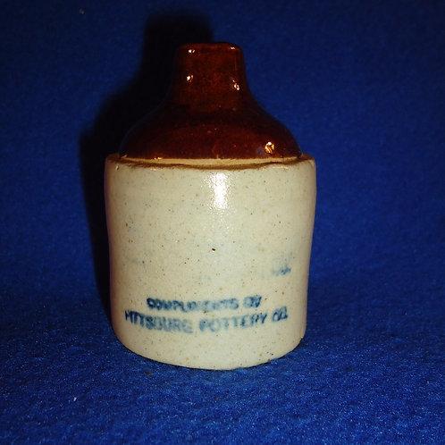 Pittsburg Pottery, Pittsburg, Kansas Stoneware Mini Jug