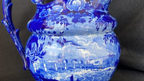 HISTORICAL BLUE STAFFORDSHIRE CHINAWARE