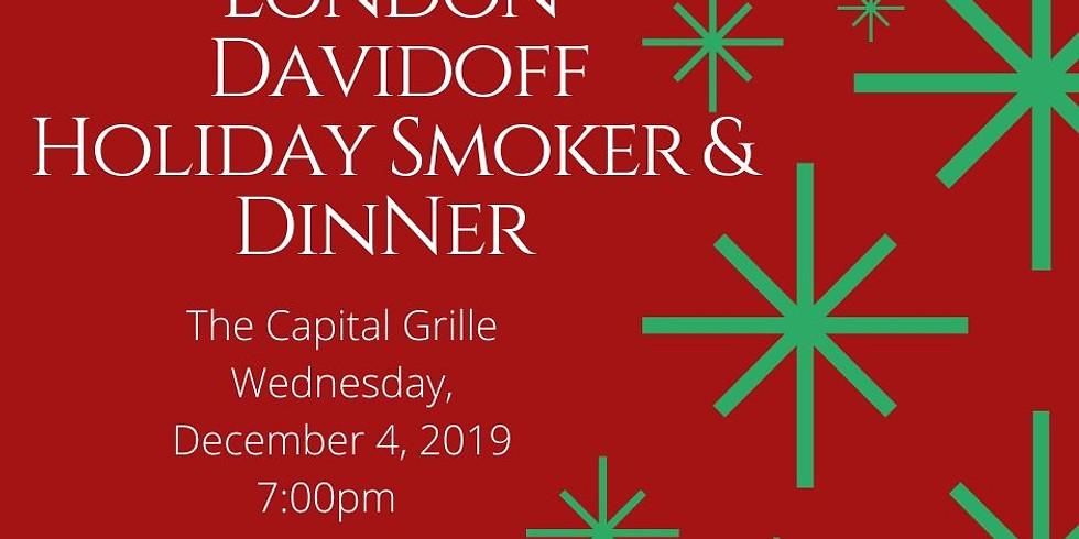 Davidoff Holiday Smoker and Dinner