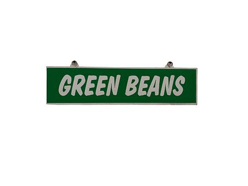 Green Beans Sign