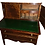 Thumbnail: eral Mahogany ladies Hepplewhite writing desk