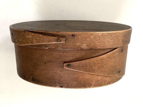 Oval Box in Original Patina