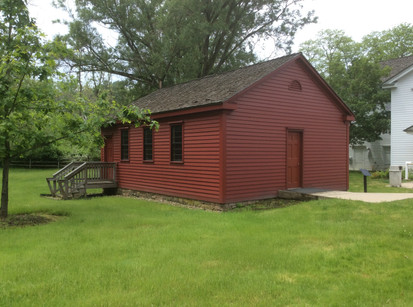 Completed schoolhouse  project