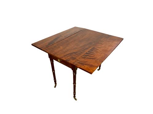Mahogany dropleaf table